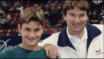 with Jimmy Connors