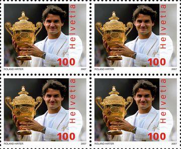 Federer stamps