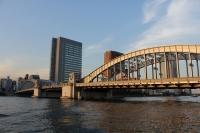 @隅田川勝どき橋・ばんざい見たかったなぁ