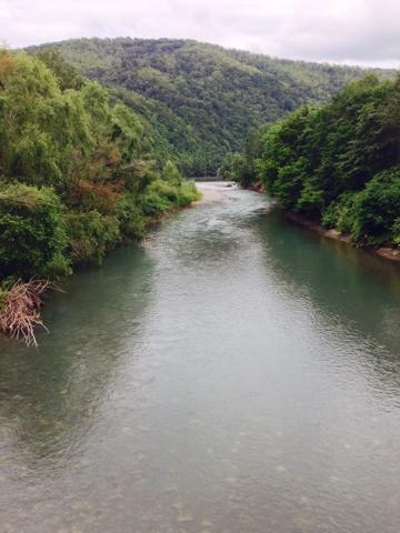 富良野を流れる空知川