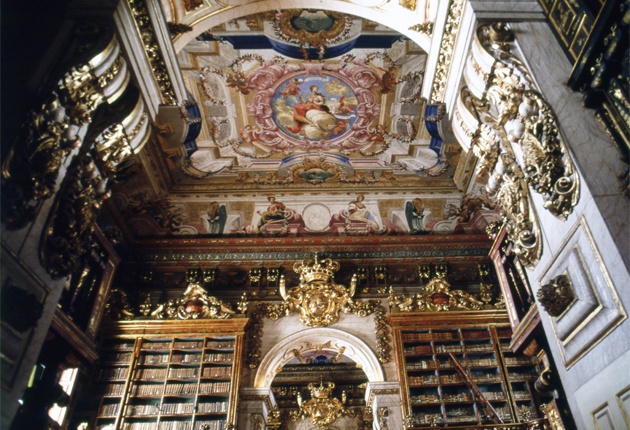Coimbra Library コインブラ図書館