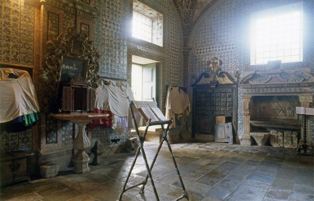 Inside of monastery Saojoaodetarouca サン・ジョン・デ・タロウカ修道院内部