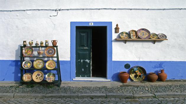 Ceramic shop of Redondo レドンドの陶芸店