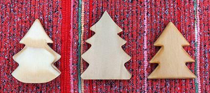 ギャラリータキオンコート 冬展 裂き織り 木工 クリスマスツリーツリー