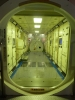 宇宙ステーション内部