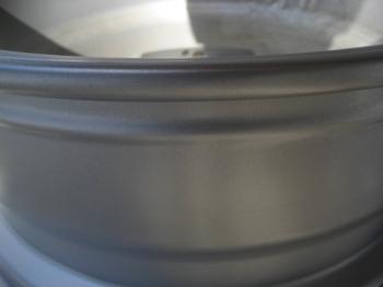 アルミホイール腐食による塗膜劣化修理済みアップ