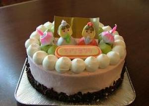 今津サンブリッジホテルひな祭りケーキ