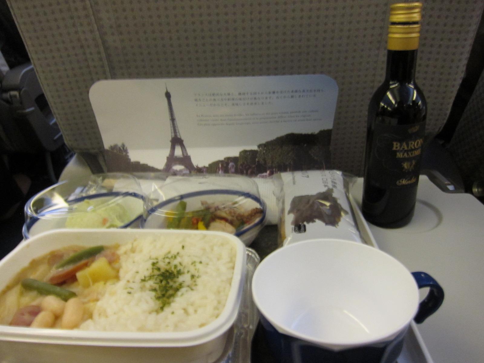 日本の食事とフランスの食事