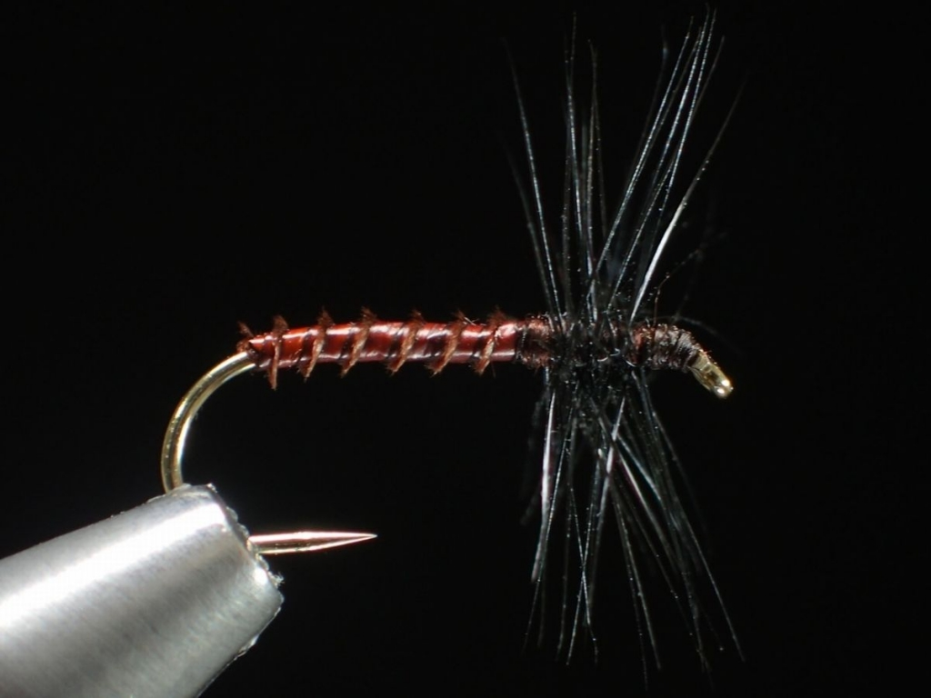 n-VISION テンカラ・クイル胴毛ばり