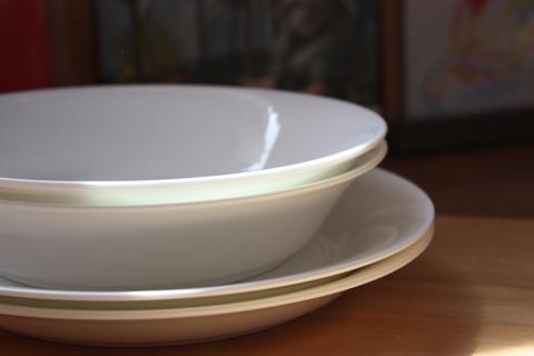 無印良品のお皿。