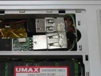 EeePC(Eee PC)を分解改造してUSBを増設してBluetooth(ブルートゥース)を組み込む、メモリベイに内蔵している写真3