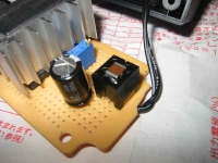 EeePC(Eee PC)4Way電源の装置の回路写真その2、村田製作所のノイズフィルタが入っている