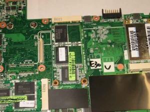 ASUS Eee PC・EeePCのSSDユニットを接続しているIDEスロットその2