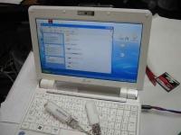 ASUS Eee PC・EeePC901にUSBポートを2つ増設する
