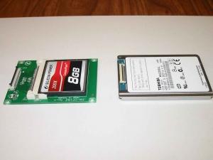 ASUS Eee PC・EeePC901に東芝の60GBのHDDを増設する2