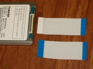 ASUS Eee PC・EeePC901に東芝の60GBのHDDを増設する3