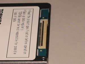 ASUS Eee PC・EeePC901に東芝の60GBのHDDを増設する5