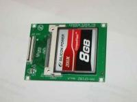 ASUS Eee PC・EeePC901にCFを接続ZIF接続1.8インチベイに実装