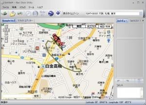 GPSで現在地点を地図表示する ASUS EeePC901・Eee PC 901