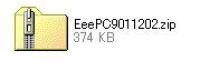ASUS EeePC・Eee PC 901用のBIOSアップデータ