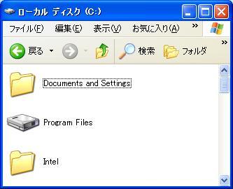 Eee PC 901 Cドライブの拡張方法詳細、Program FilesをHDD化する