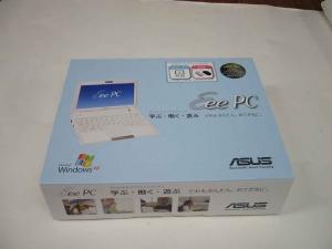 ASUS Eee PC 900国内版のパッケージ