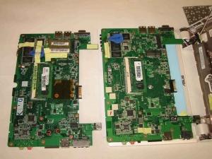 ASUS Eee PC 900-X 分解写真ライブラリNo1 CPU廻りの画像。甲改造度写真により各スペックを紹介する。