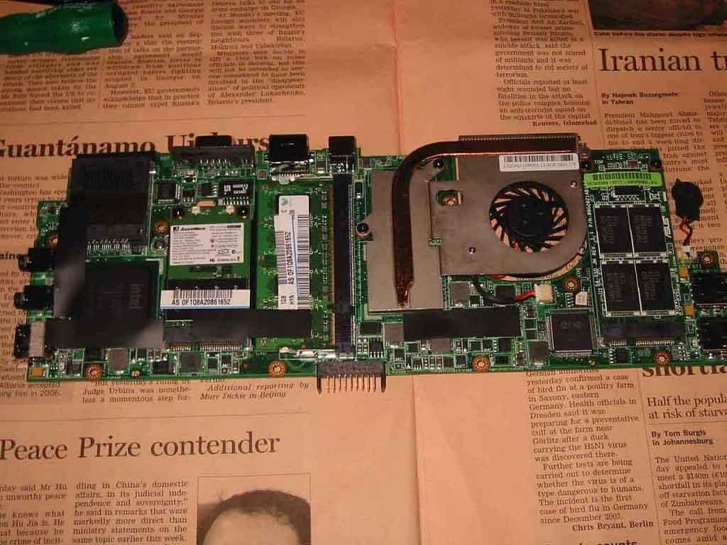 S101 分解 マザーボード その2