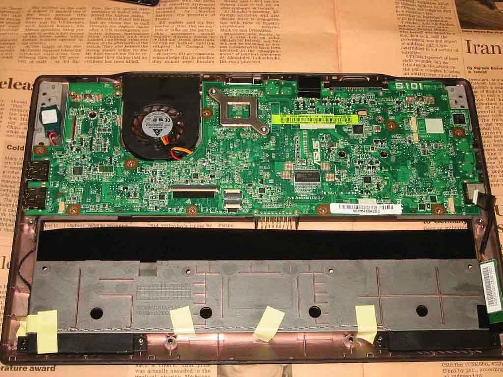 S101 分解 マザーボード その1