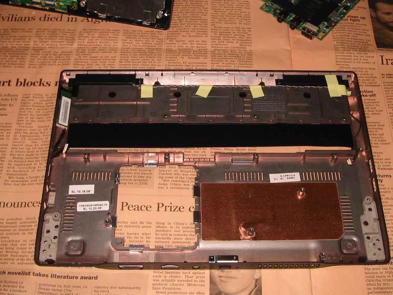 S101 分解 マザーボード その4
