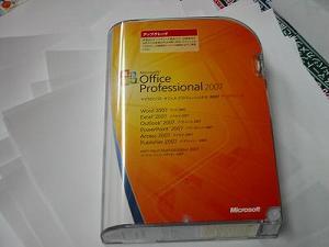 MSオフィス2007 Eee PC S101 への導入 インストール
