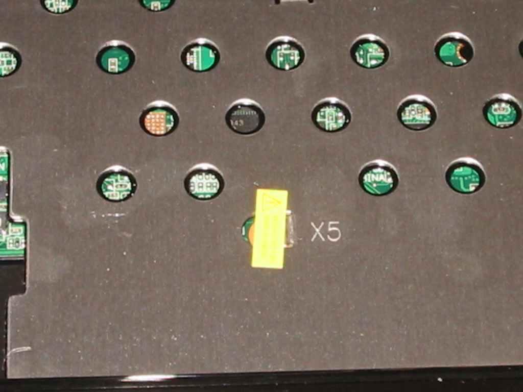 ASUS Eee S101H 筐体の分解 封印シール