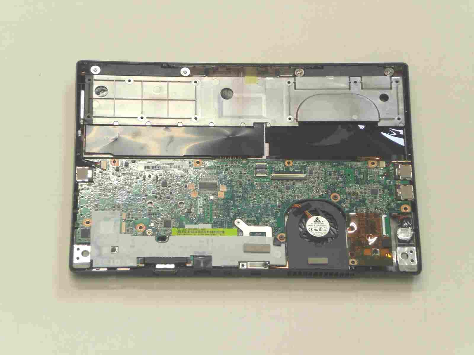 ASUS Eee S101H 分解 下部筐体の画像