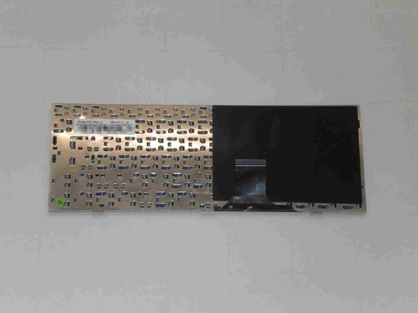 ASUS Eee S101H 筐体の分解 分解したキーボード 裏