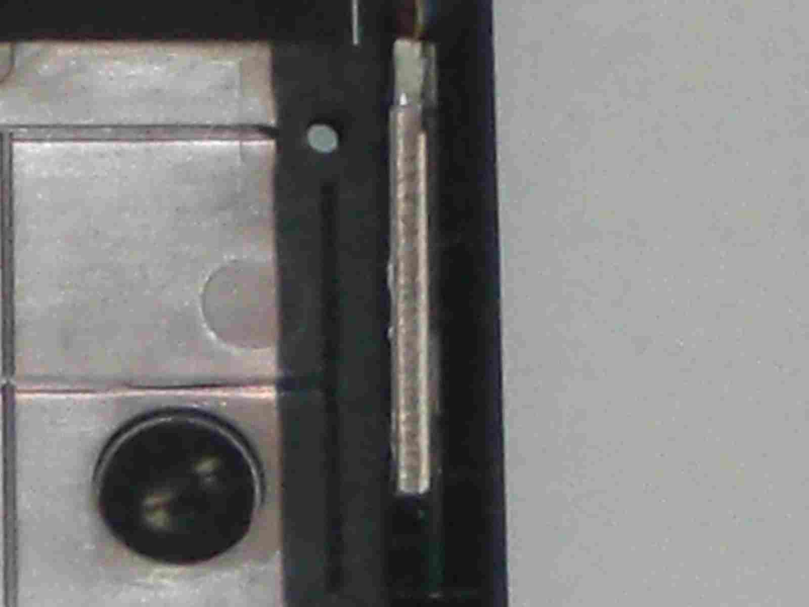 ASUS Eee S101H 筐体下部のディティール3 BlueTooth ユニットの拡大