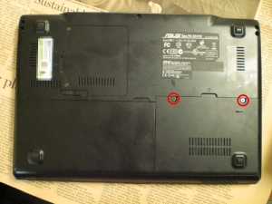 PFB EeePC S101H SSD 高速化 換装