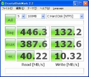 SSD 高速化 ベンチマーク結果