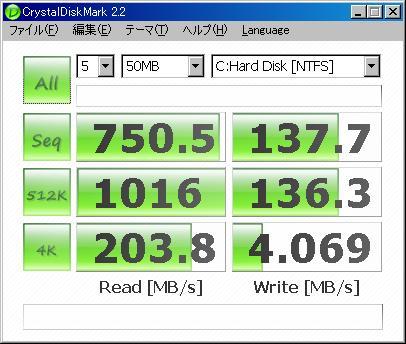 HDDの高速化 バッファ PFB 大容量キャッシュを付加する