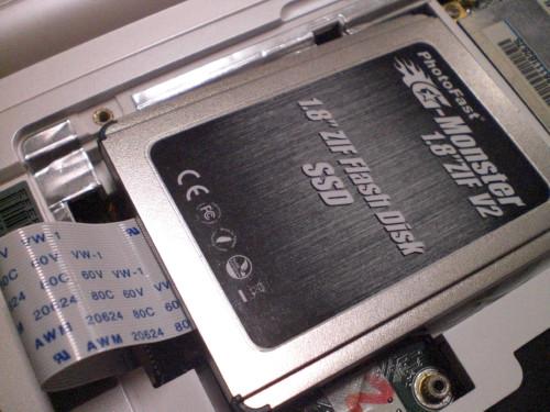 EeePC 901 プチフリバスター PFB プチフリーズバスター プチフリ SSD 評価 G-Monster 高速化