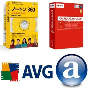 Windows7 Win7 EeePC 901 S101 S101H セキュリティソフト アンチウィルス ノートン ウィルスバスター AVG Avast! プチフリバスター インストール