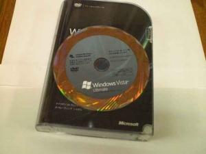 Windows VISTA 64ビット版 マスターディスク