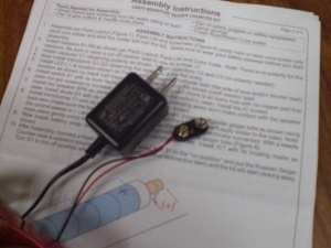 9V AC電源化する