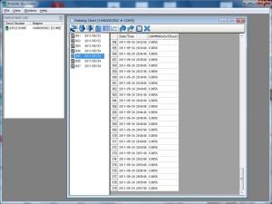 放射線 DoseRAE2 PC パソコン Windows 接続 リンク 取り込んんだところ 表示