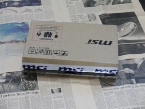 MSI WindPad 110W 化粧箱