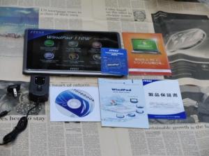 MSI WindPad 110W 化粧箱 内容物 展開