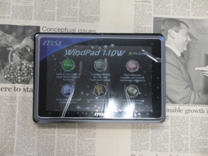 MSI WindPad 110W ACER ICONITA TAB W500 比較2