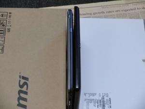 MSI WindPad 110W ACER ICONITA TAB W500 比較3
