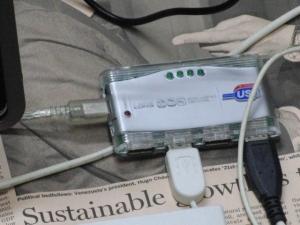 タッチパネルPC MSI WindPad 110W ドッキングステーション 自作 USBハブは有電源型を選ぼう