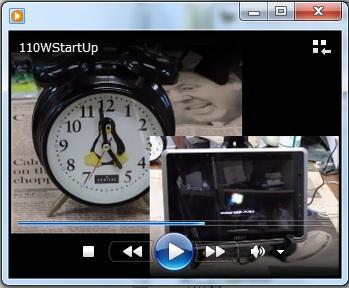 MSI WindPad 110W 起動時間