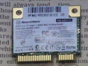 MSI WindPad 110W 分解 マザーボード WiFiカード